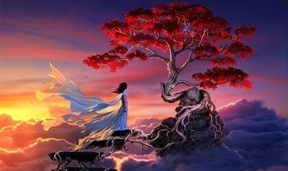 Sakura, una leyenda japonesa sobre el amor verdadero