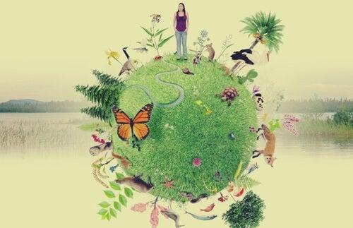 planeta simbolizando la emodiversidad