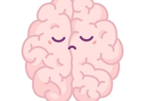 Cerebro triste y pesimista