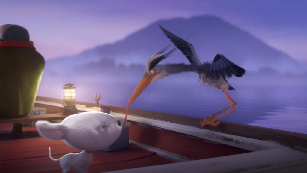 Heron y Joy trayéndonos una enseñanza desde el corazón