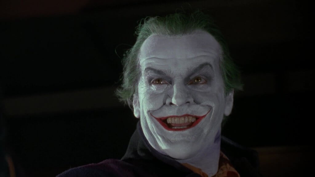 Joker interpretado por Jack Nicholson