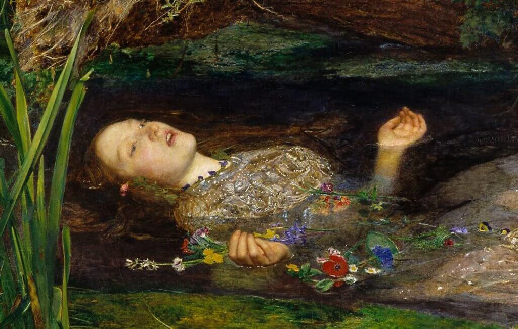 Mujer en el río