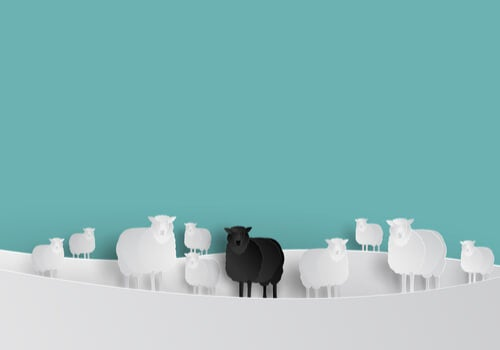 La oveja negra dentro del grupo