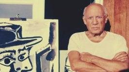 imagen representando las frases de Pablo Picasso