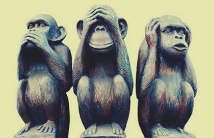 La metáfora de los tres monos y el buen vivir