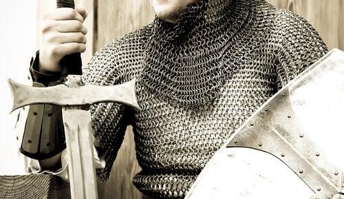 Caballero con armadura
