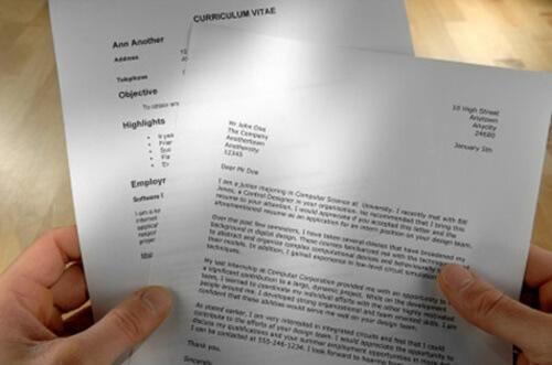 carta de presentación para solicitar un empleo