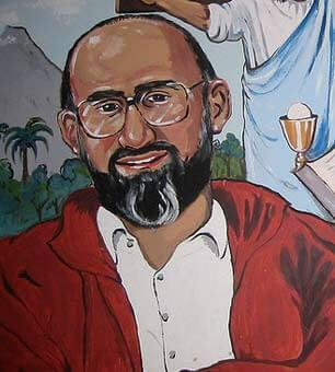 Dibujo de Ignacio Martín-Baró