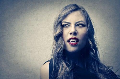 Mujer vampira