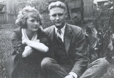Zelda y Scott Fitzgerald