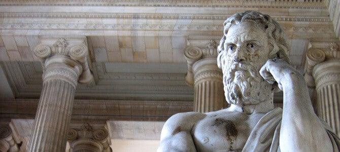 Escultura griega de Jenofonte