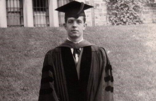 John Forbes Nash en su etapa universitaria
