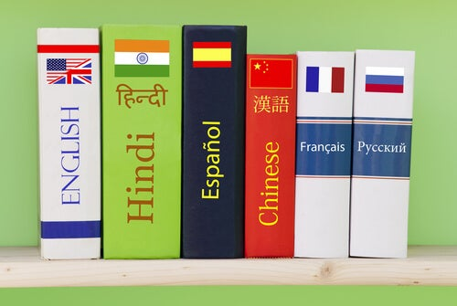 Libros de diferentes idiomas