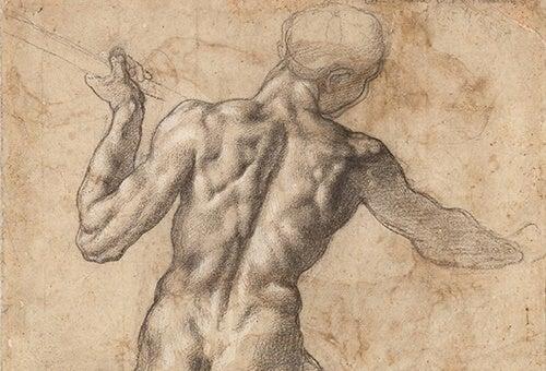 dibujo de Miguel Ángel Buonarroti