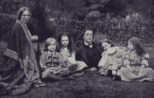 Alicia Liddell y Lewis Carroll