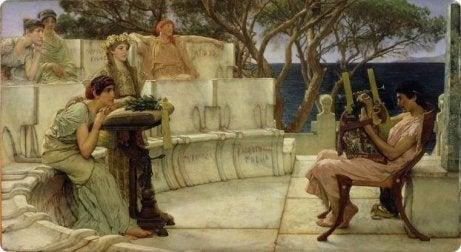 Canto épico griego