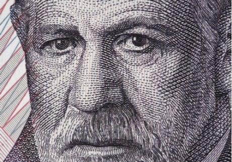 Cara de Freud