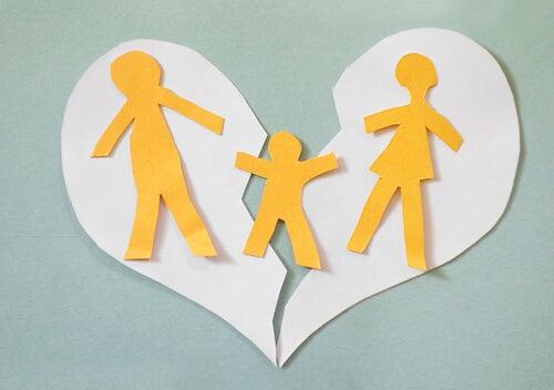 Familia rota por una separación