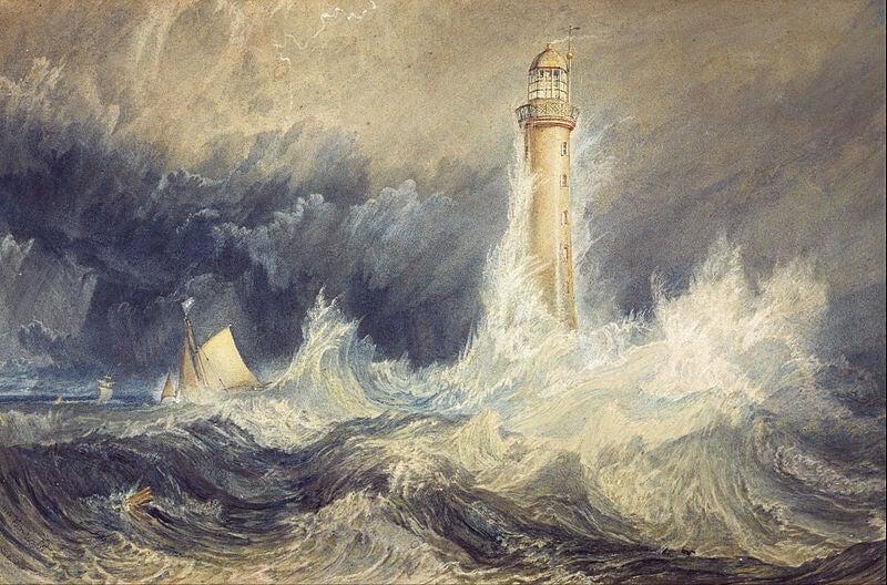 JMW Turner: biografía de un pintor atormentado por el mar