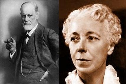 Freud con Karen Horney