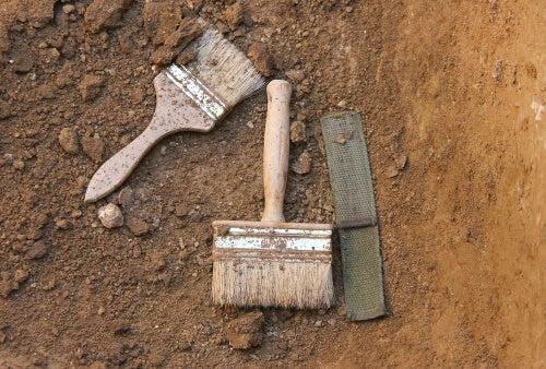 Herramientas de un arqueólogo