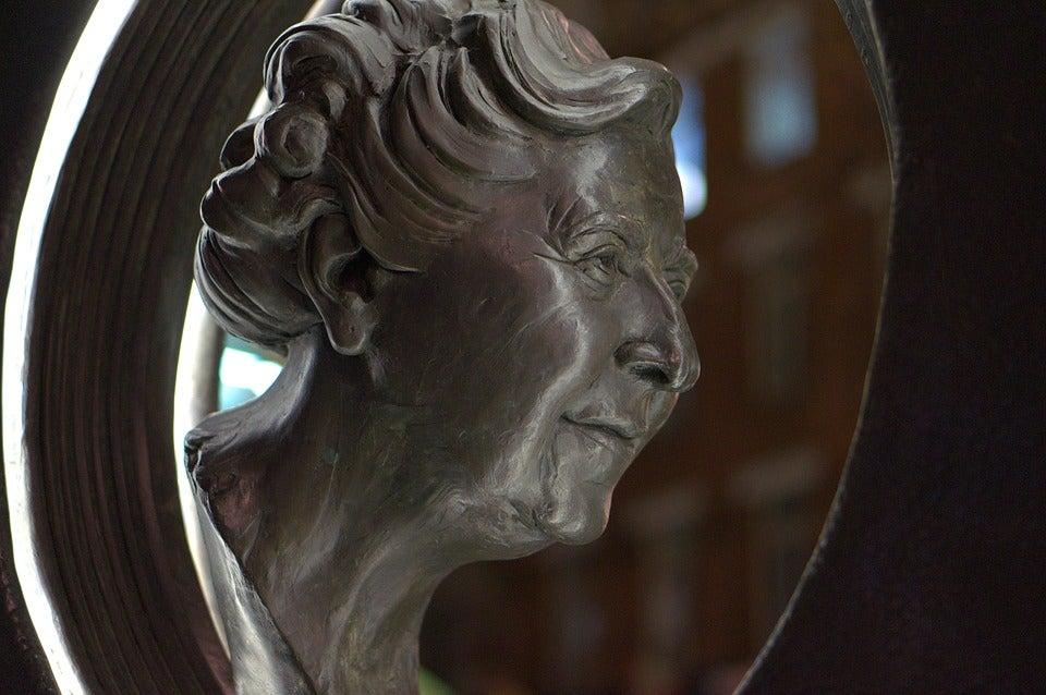 Monumento a Agatha Christie