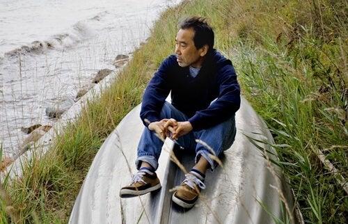Haruki Murakami sobre un barco