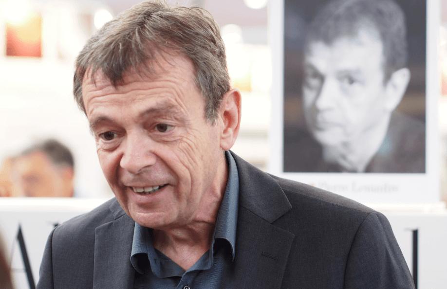 Pierre Lemaitre hablando sobre su novela Nos vemos allá arriba