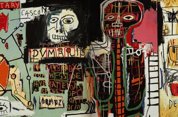 Pintura de Basquiat