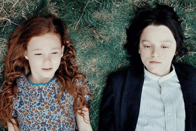 Severus Snape y Lily Potter
