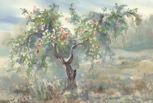 Árbol con frutos