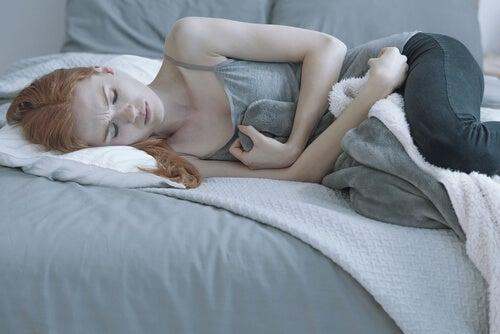 Chica con anorexia