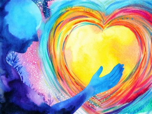 Serce z kolorów
