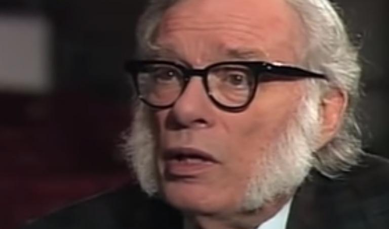 5 fantásticas frases de Isaac Asimov