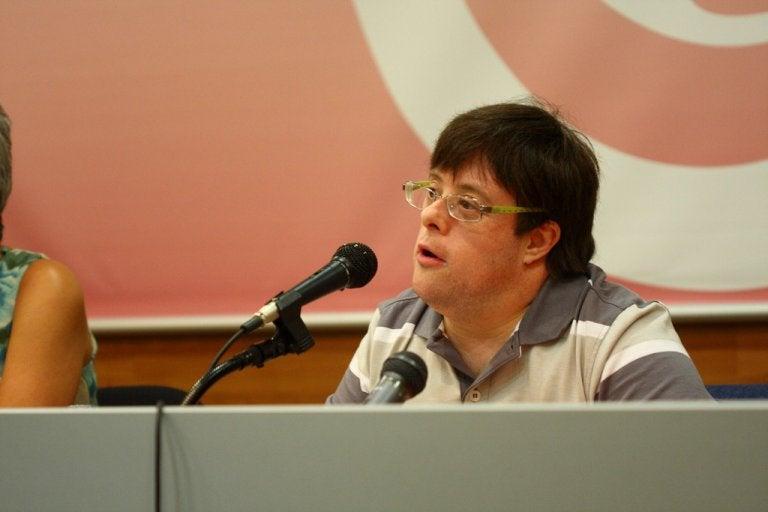 Pablo Pineda, primer titulado universitario europeo con síndrome de Down