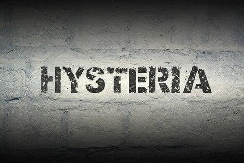 Palabra histeria
