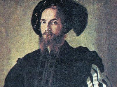 Pintura de César Borgia