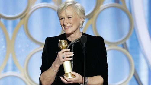 Glenn Close Globos de oro