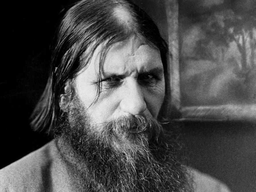 Rostro de Rasputín