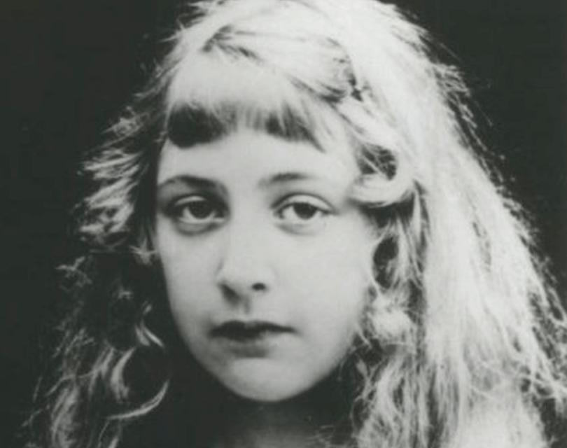 Agatha Christie de pequeña