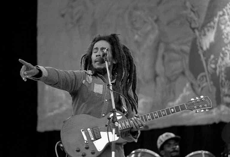 Las 7 mejores frases de Bob Marley