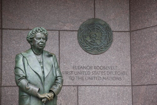 Estatua de Eleanor Roosevelt