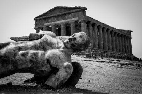 Estatua de Ícaro