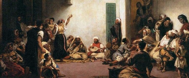 Delacroix, Judios en el Norte de África