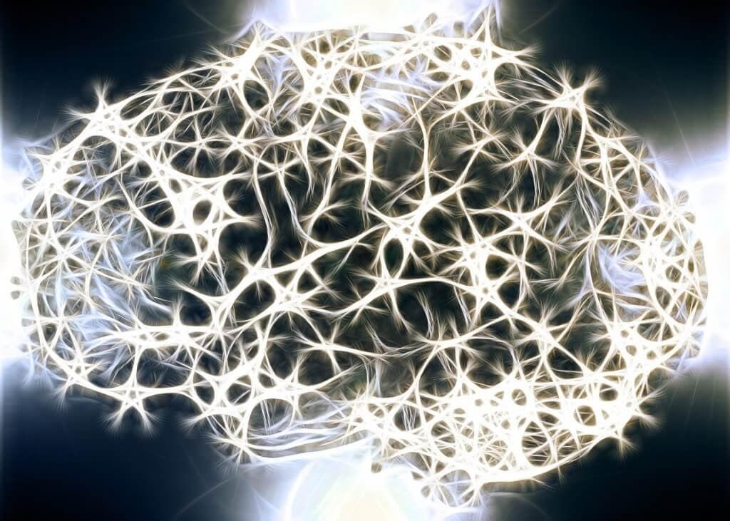Neuronas del cerebro iluminadas