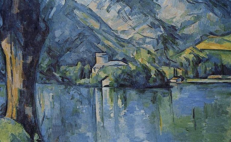 Paisaje de Paul Cezanne