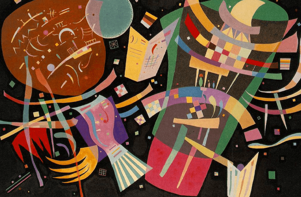 Pintura de Kandinski