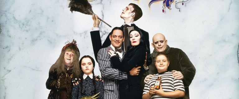 La familia Addams: la belleza de lo macabro