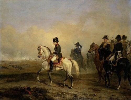 Cuadro del emperador Napoleón