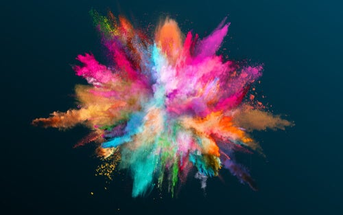 Różna gama kolorów